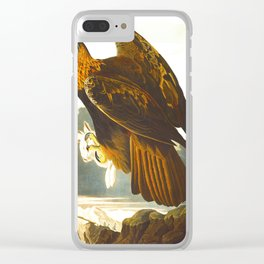 Golden Eagle Clear iPhone Case
