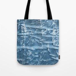 Dark slate blue nebulous watercolor texture Tote Bag