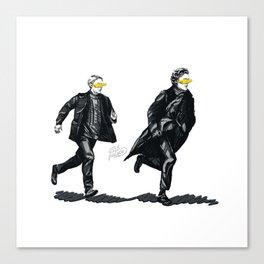 Swift Run (Sherlock and John) Canvas Print