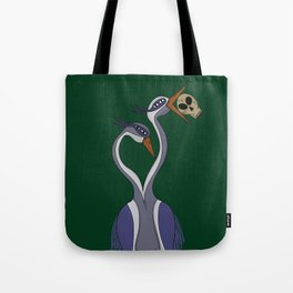 Portrait of the Heron Tote Bag