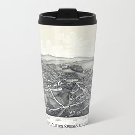 Clifton Springs - New York - 1892 Travel Mug