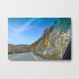 The High Road Metal Print
