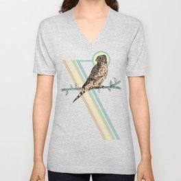 Mauritius Kestrel Falcon Unisex V-Neck