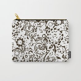 Gold elegant Pattern Carry-All Pouch