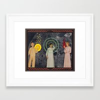 sisters Framed Art Prints featuring Sisters by Canson City