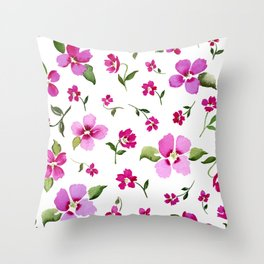 Confetti Pink Throw Pillow