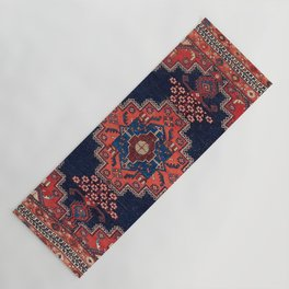 Afshar Kerman South Persian Rug Print Yoga Mat