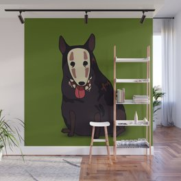 Ghost dog Wall Mural