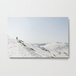 Australian Snow Metal Print