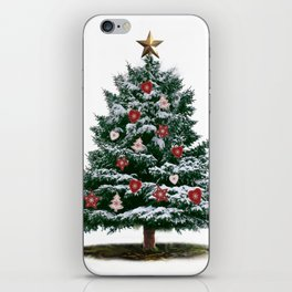 Christmas Tree by Chrissy iPhone Skin