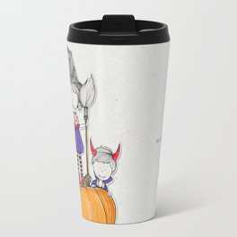 Boo! Tricks or treats Travel Mug