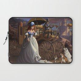 Steampunk Cinderella Laptop Sleeve