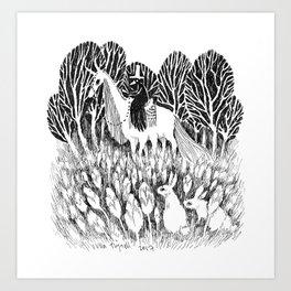 Sixfeet Ride Art Print