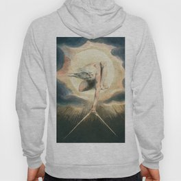 Ancient of Days Setting a Compass to the Earth (1794)  from Europe a Prophecy by William Blake (1752-1827) Hoody
