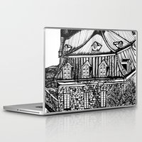 copenhagen Laptop & iPad Skins featuring Copenhagen by intermittentdreamscapes