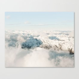 Above The Cloud Canvas Print