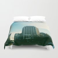 detroit Duvet Covers featuring Downtown Detroit by Michelle & Chris Gerard