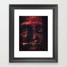 Red II Framed Art Print