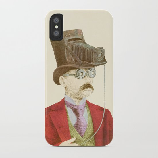 The Photographer iPhone Case