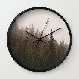 Elevation Drop Wall Clock