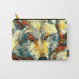 AnimalArt_Wolf_20170603_by_JAMColorsSpecial Carry-All Pouch