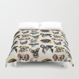 Just some dogs Duvet Cover