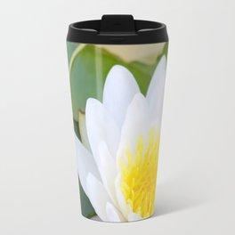 Autumn Water Lily 1 Travel Mug