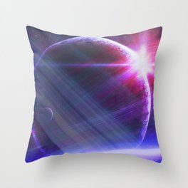 Parallel world Throw Pillow