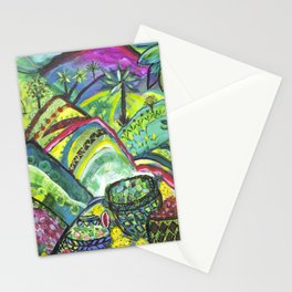 Lush Abundance Stationery Cards