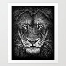 Lion King Art Print