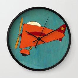 Air-Plane Wall Clock