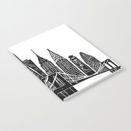 Linocut New York Notebook