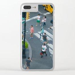 Bird's Eye Clear iPhone Case