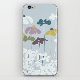 Maggiorie wild flowers iPhone Skin