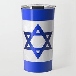 Israel Star Of David Flag Travel Mug
