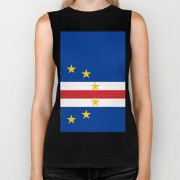 Cape Verde Flag Biker Tank