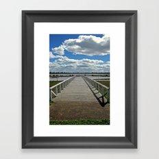Natimuk Pier Framed Art Print