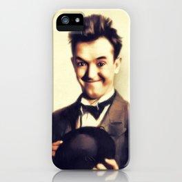 Stan Laurel, Hollywood Legend iPhone Case