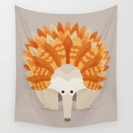 Whimsical Echidna Wall Tapestry