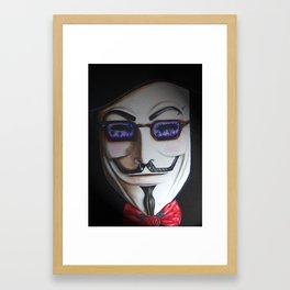 V is for Vacation Framed Art Print