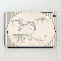 mozart iPad Cases featuring Custom made Mozart by bananabread