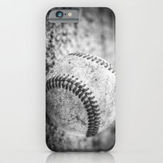 Baseball in Black and White iPhone 6 Slim Case