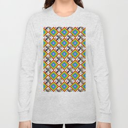 symetric patterns 75-mandala,geometric,rosace,harmony,star,symmetry Long Sleeve T-shirt