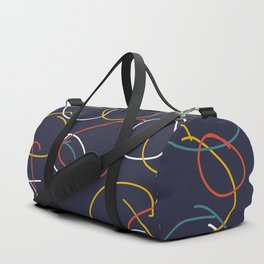 Crooked Circles #2 Duffle Bag