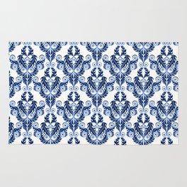 Amazing blue vintage Design Rug