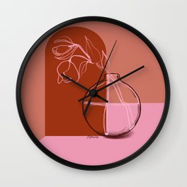 Mother Nature 31 Wall Clock