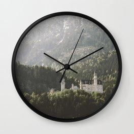 Neuschwanstein Fairytales - Landscape Photography Wall Clock