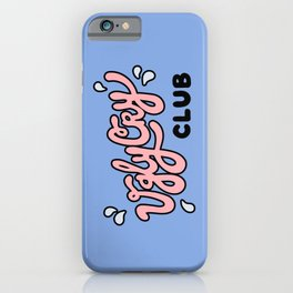 Ugly Cry Club iPhone Case
