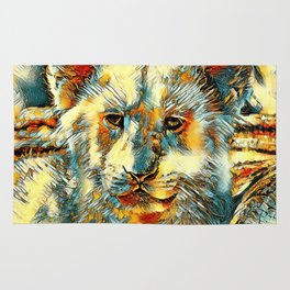 AnimalArt_Lion_20171201_by_JAMColorsSpecial Rug