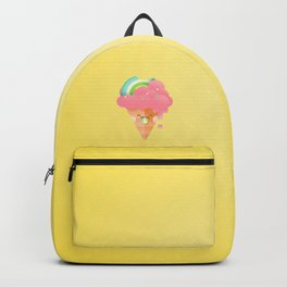 Strawberry Rainbow Backpack